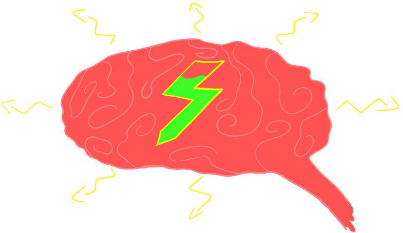 Gehirn als Stressanzeichen