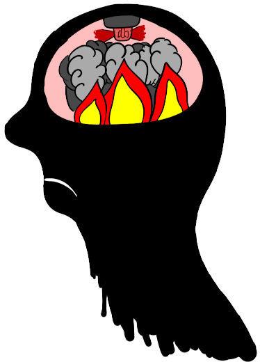 Stress entsteht im Kopf